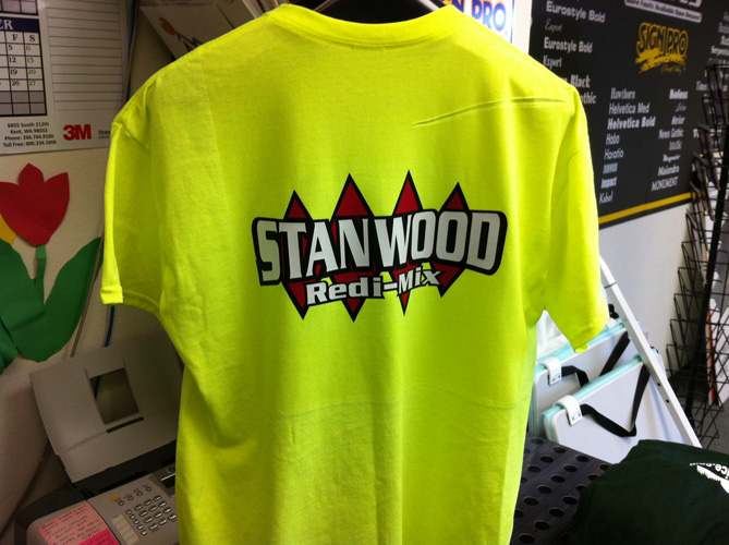 SIGN PRO-STANWOOD REDI MIX